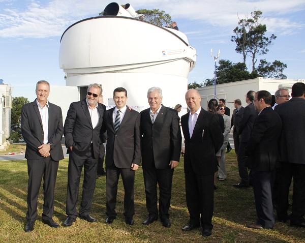 Unifei Participa de Inauguração de Telescópio Russo No Observatório Do Lna Em Brazópolis
