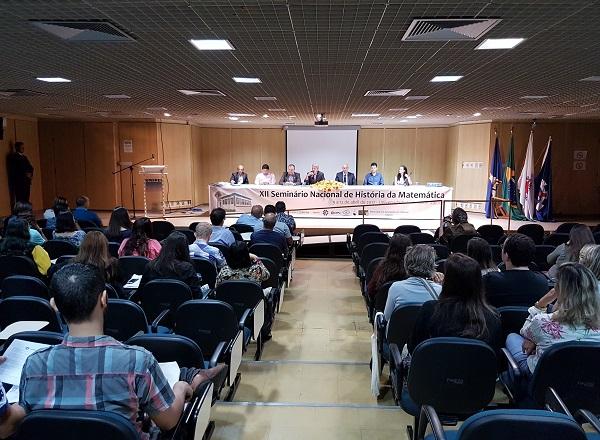 Unifei Sedia O Xii Seminário Nacional de História da Matemática